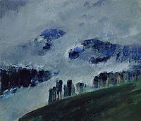 Mists, 1906, ciurlionis