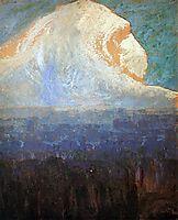 Mountain, 1906, ciurlionis