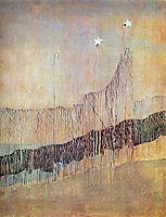 My road (II), 1907, ciurlionis