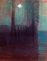 Night, 1904, ciurlionis