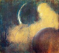Night, c.1905, ciurlionis
