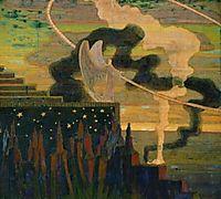 The Offering, 1909, ciurlionis