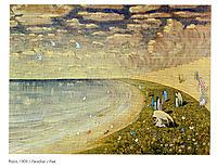 Paradise, 1909, ciurlionis