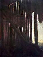 Rustle of the Forest, 1904, ciurlionis