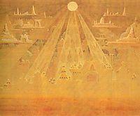Scherzo (Sonata of the Pyramids) , 1909, ciurlionis