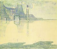 Scherzo (Sonata of the Serpent), 1908, ciurlionis