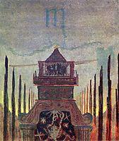 Scorpio, 1907, ciurlionis