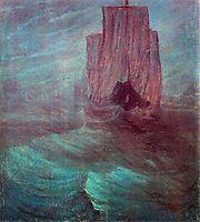 Ship, 1906, ciurlionis