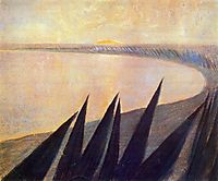 Sorrow (I), 1907, ciurlionis