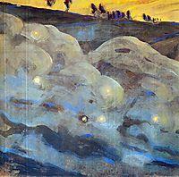 Sparks (I), 1906, ciurlionis