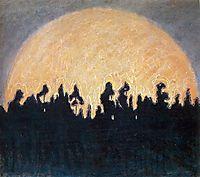 The sun, 1907, ciurlionis