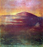 Sunset, 1904, ciurlionis