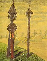 Wayside Crosses of Zemaitija, 1909, ciurlionis
