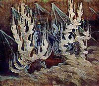 Winter (II), 1907, ciurlionis