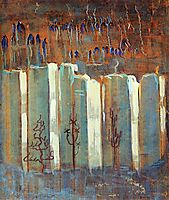 Winter (III), 1907, ciurlionis