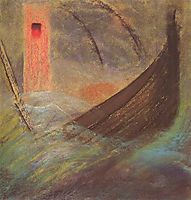 Deluge (V), 1904, ciurlionis