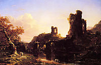 An Italian Autumn, 1844, cole