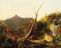 Autumn Landscape, Mount Chocorua, 1827-1828, cole