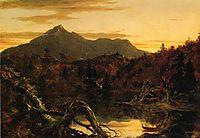 Autumn Twilight View of Copway Peak (Mount Chocorua, New Hampshire), 1834, cole