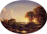 Catskill Landscape, 1846, cole