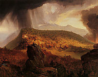 Catskill Mountain House: The Four Elements, 1843-1844, cole