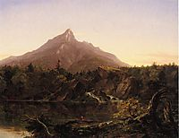 Corway Peak, New Hamshire, 1844, cole