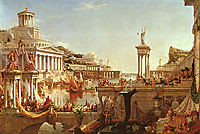The Course of the Empire: The Consummation, 1836, cole