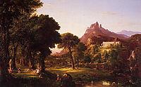 Dream of Arcadia, 1838, cole