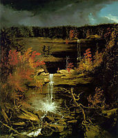 Falls of Kaaterskill, 1826, cole