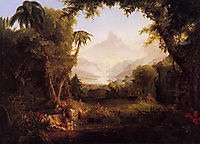 The Garden of Eden, 1828, cole