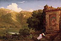 Il Penseroso, 1845, cole