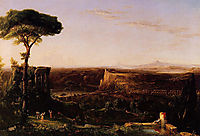 Italian Scene Composition, 1833, cole