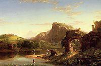 L Allegro (Italian Sunset), 1845, cole