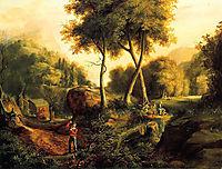 Landscape, 1825, cole