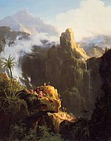 Landscape Composition. St John in the Wilderness, 1827, cole