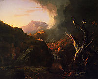 Landscape with Dead Tree, 1828, cole
