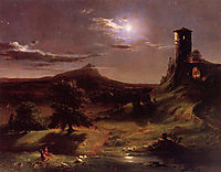 Moonlight, 1833-1834, cole