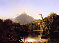 Mount Chocorua, New Hampshire, 1827, cole