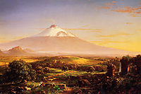 Mount Etna, 1842, cole