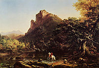 The Mountain Ford, 1846, cole