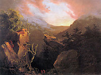 Mountain Sunrise, Catskill, 1826, cole