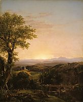 New England Scenery, 1839, cole