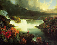 Niagara Falls, 1830, cole