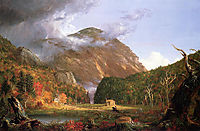 The Notch of the White Mountains, Crawford Notch, 1839, cole