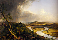 The Oxbow (the Connecticut River near Northampton), 1836, cole