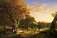 The Picnic, 1846, cole