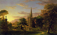 The Return, 1837, cole
