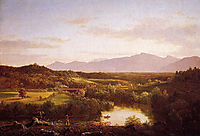 River in the Catskills, 1843, cole