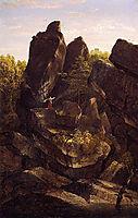 A Rocky Glenn, 1846, cole