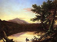 Schroon Lake, 1838-1840, cole